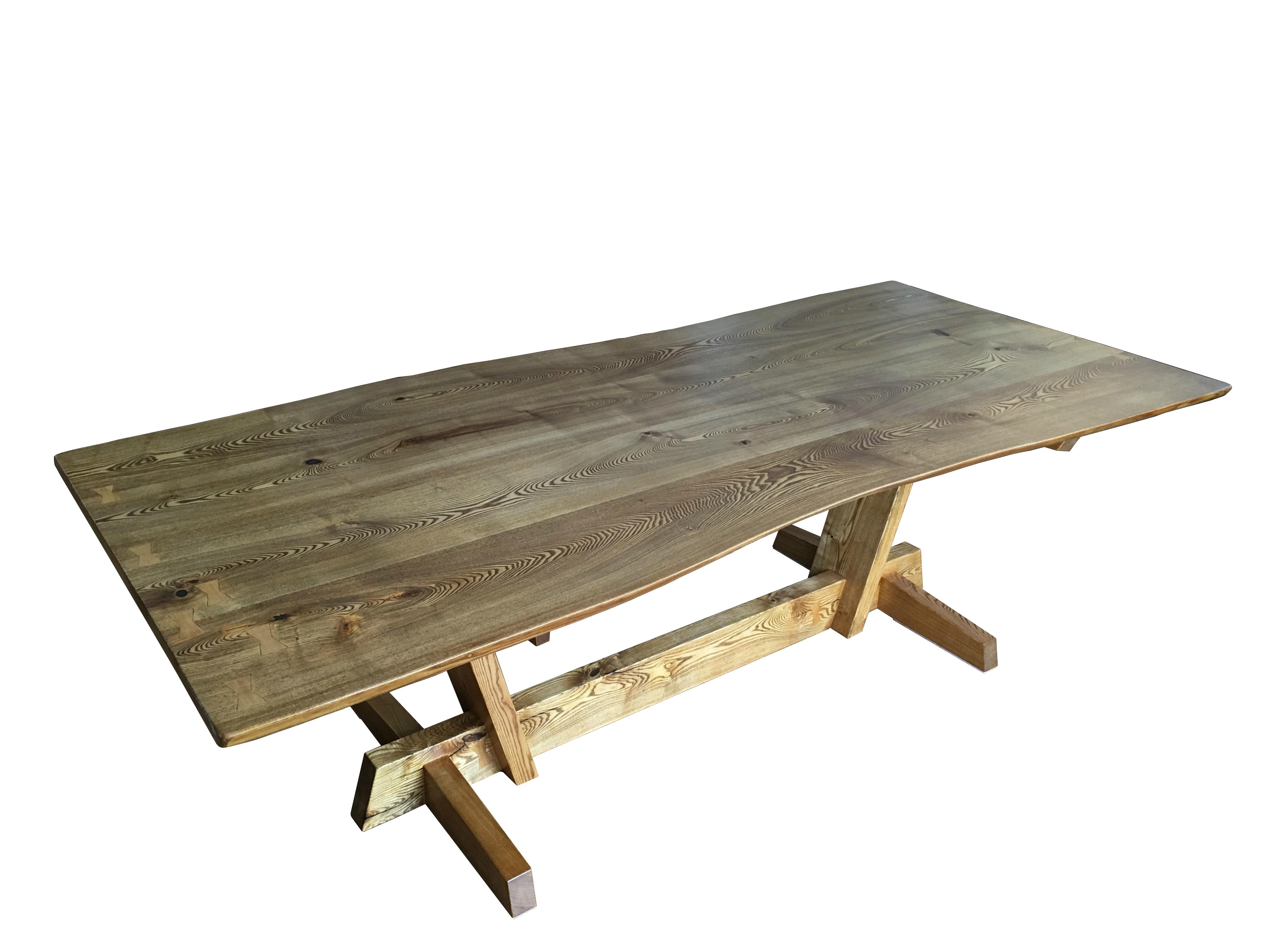 Picture of: Debakker Live Edge Dining Table Nathan Kushner Industrial Craftsman
